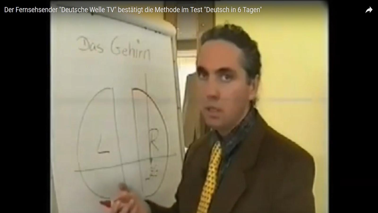 Screenshot - Bericht von Deutsche Welle TV